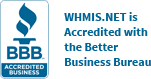 WHMIS.NET is Accredited with the Better Business Bureau